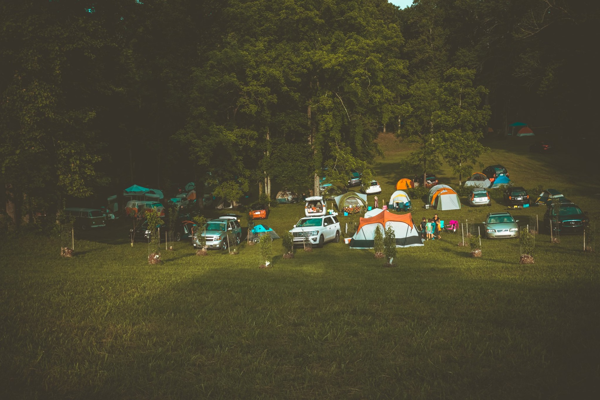 Car Camping Valley
