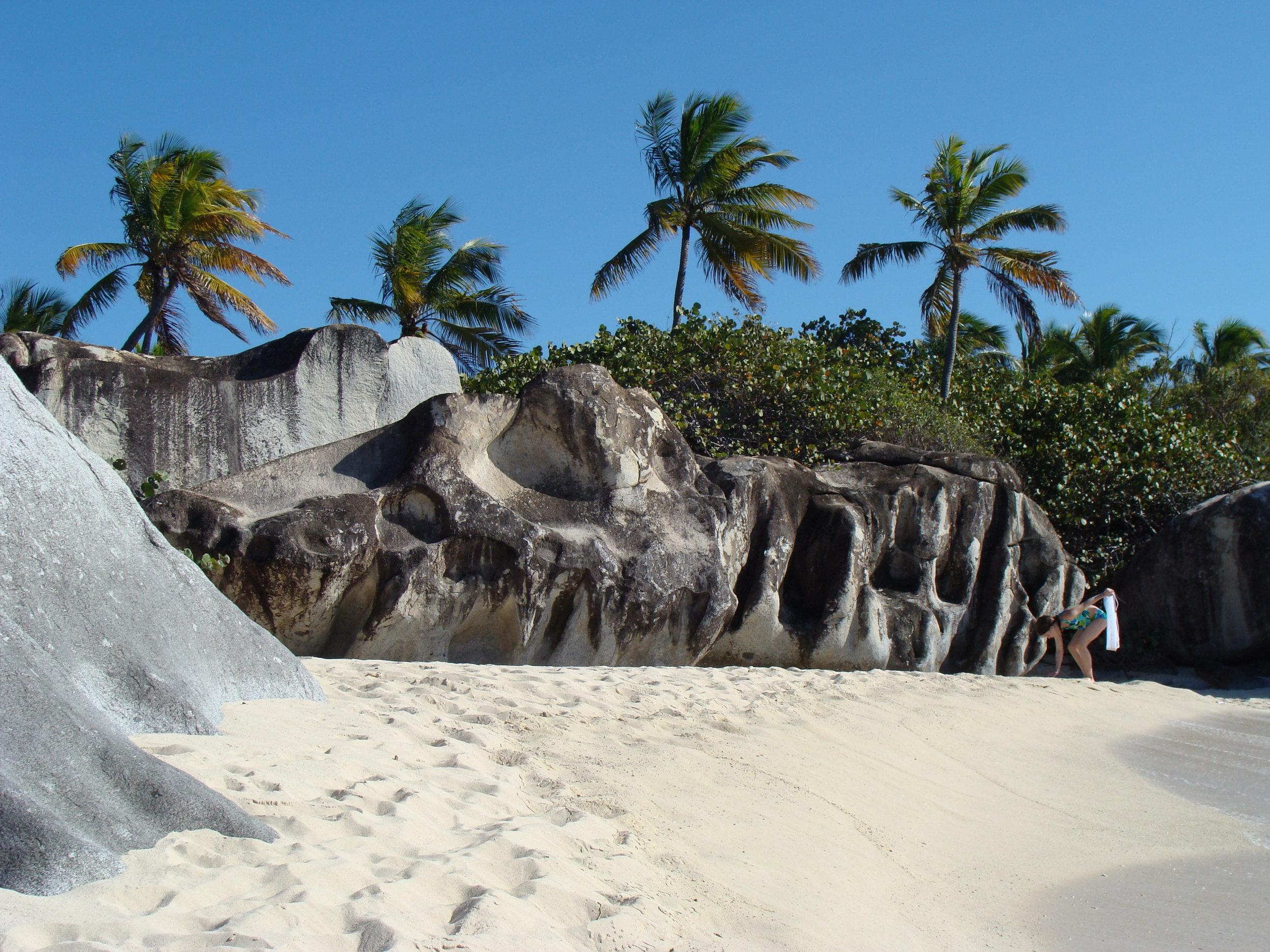 Little Valley Trunk Bay Beach