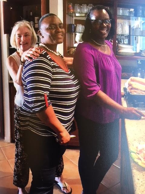 Lorraine, Reinika, and Cendra