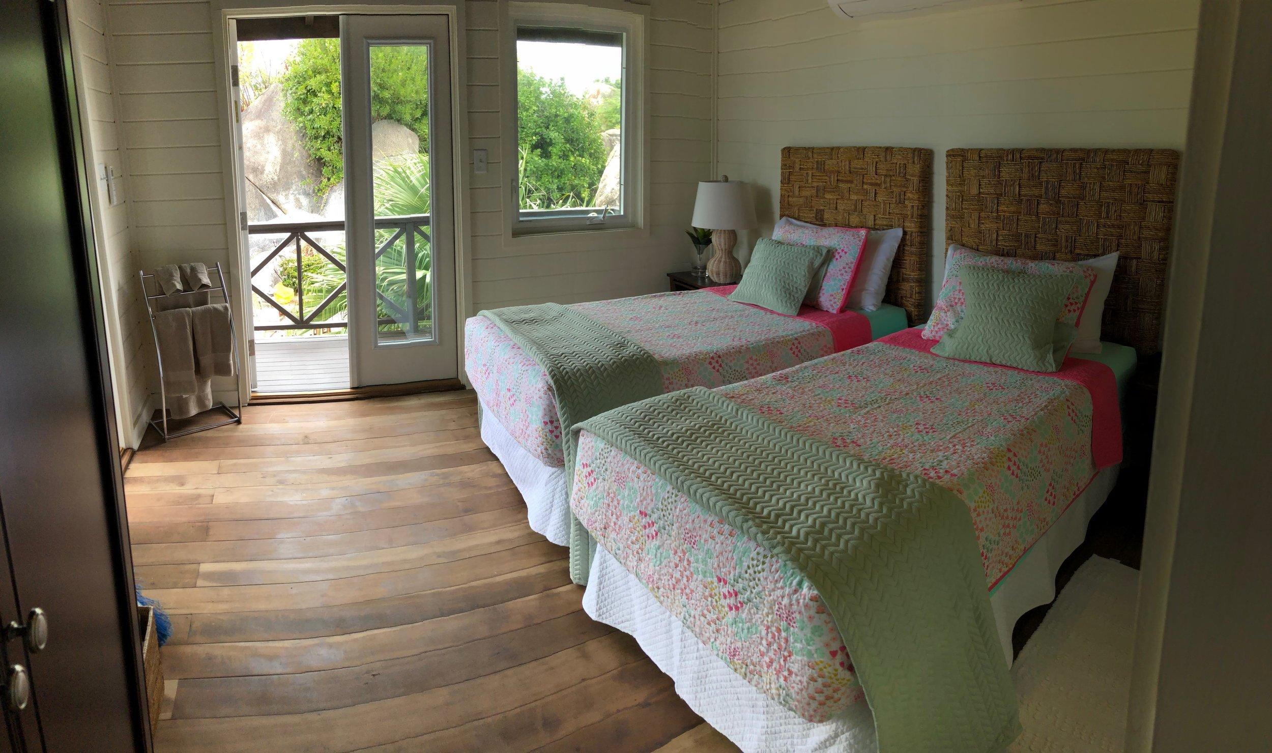 Rockery bedroom