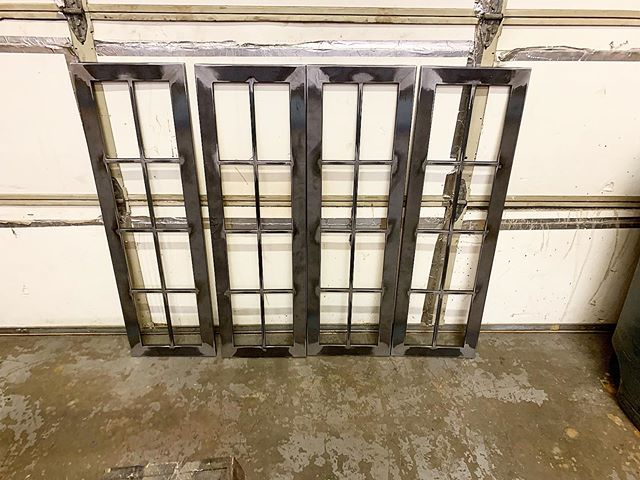 Some hutch door frames for @millbrookfurniture these are off getting powder coated.  #livebuilddie . . . .  #furniture #doorframe #hutch #metalcabinet #interior #interiors #industrialdesign #industrial