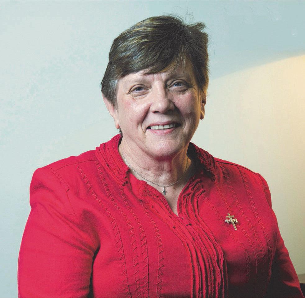 Monica Cavanagh RSJ President, Catholic Religious Australia