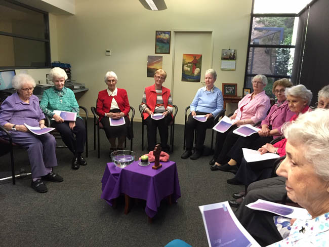 Good Shepherd and Mercy Sisters gather in Sydney for a Ritual of Lament & Promise