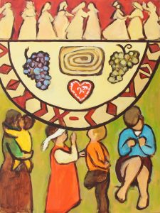 World Day of Prayer 2019 artwork by Rezka Arnus of Slovenia.