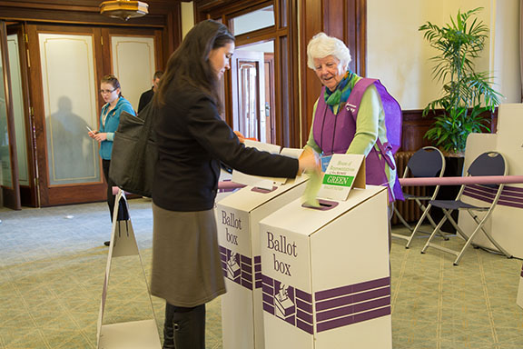 Australians will cast their votes at the Federal Election this weekend. PHOTO: Australian Electoral Commission/WikiCommons.