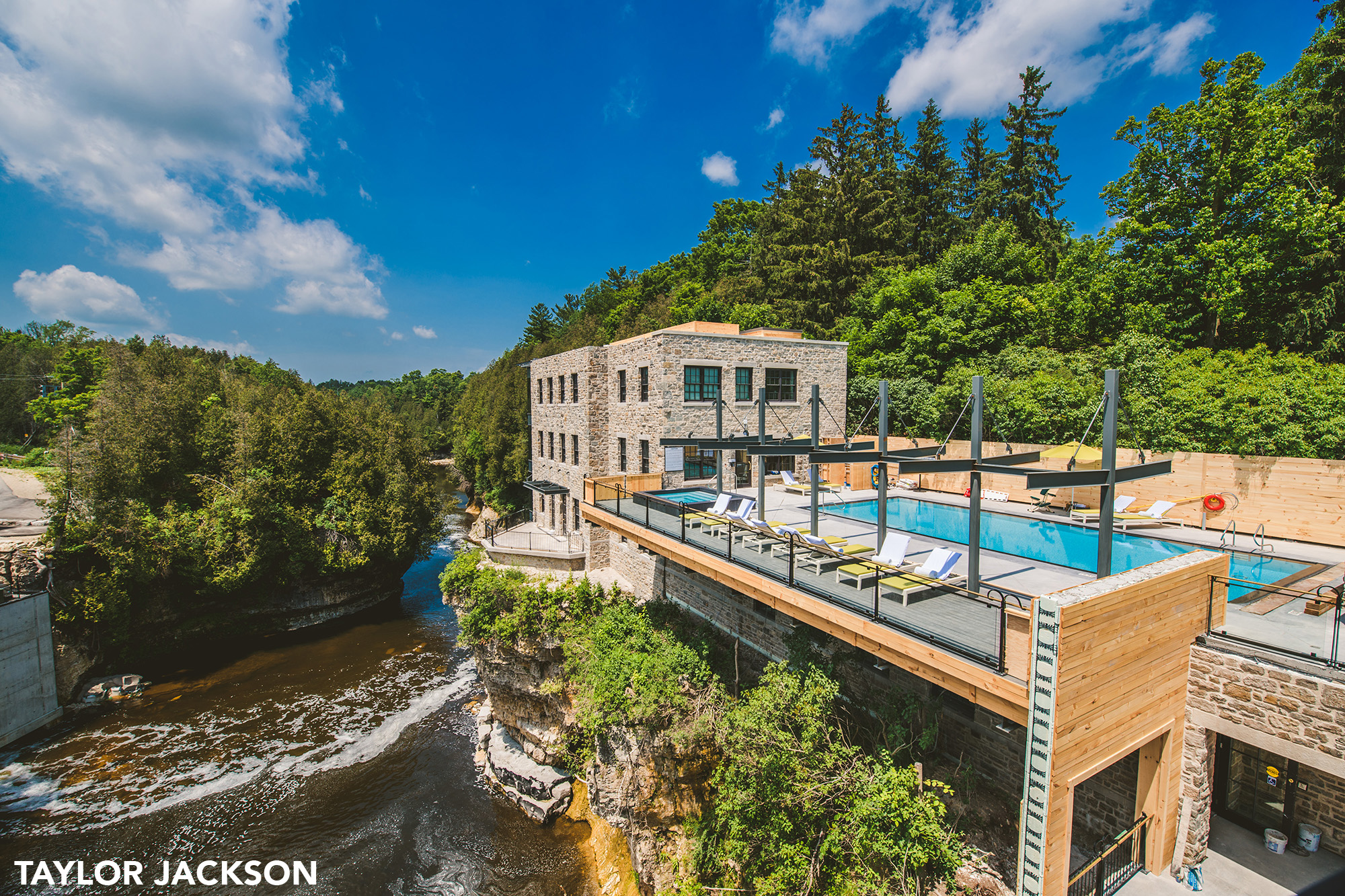 Elora Mill Pool and Spa