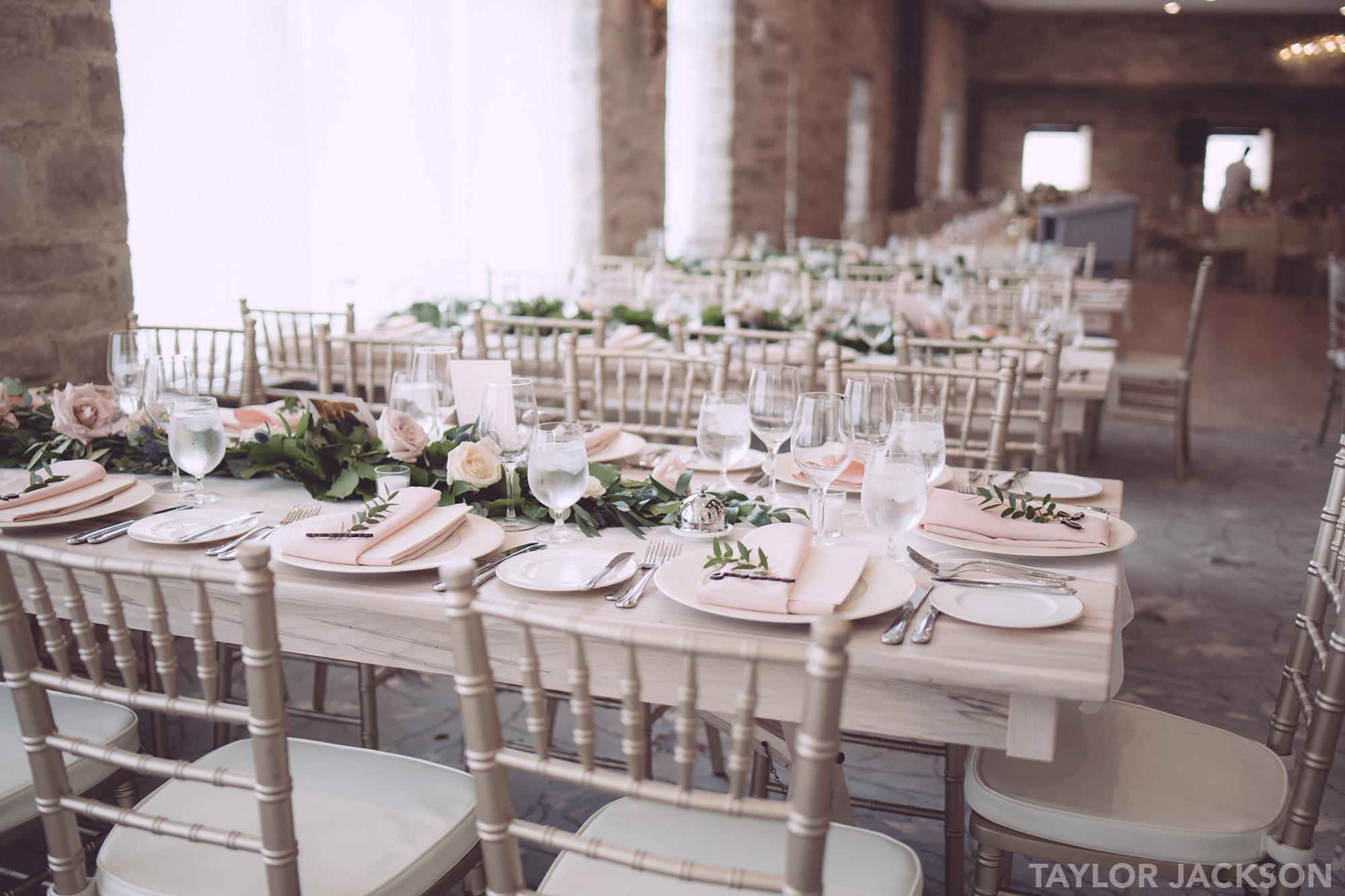 Elora Mill Grand Room  Wedding