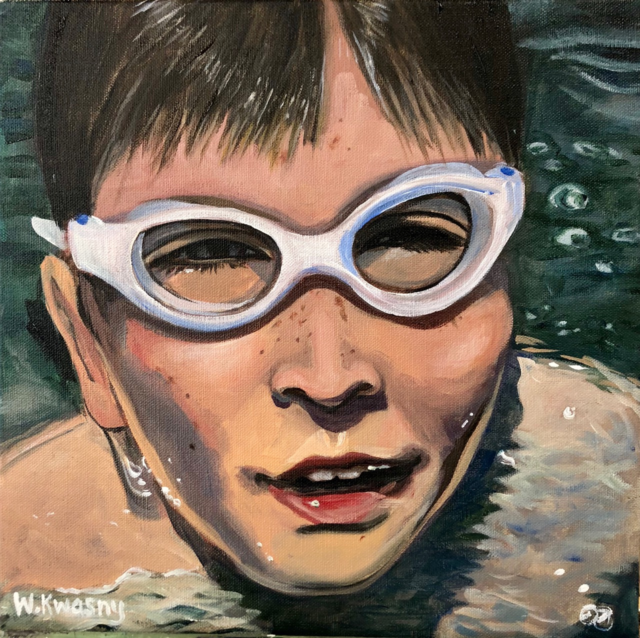 Lake Swimming Centers Him