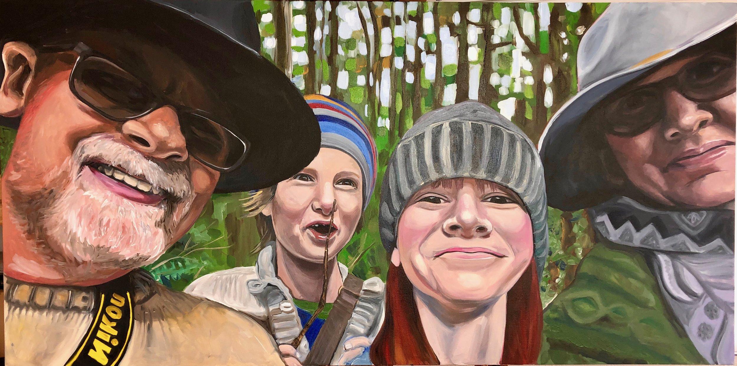 English Family, Oregon