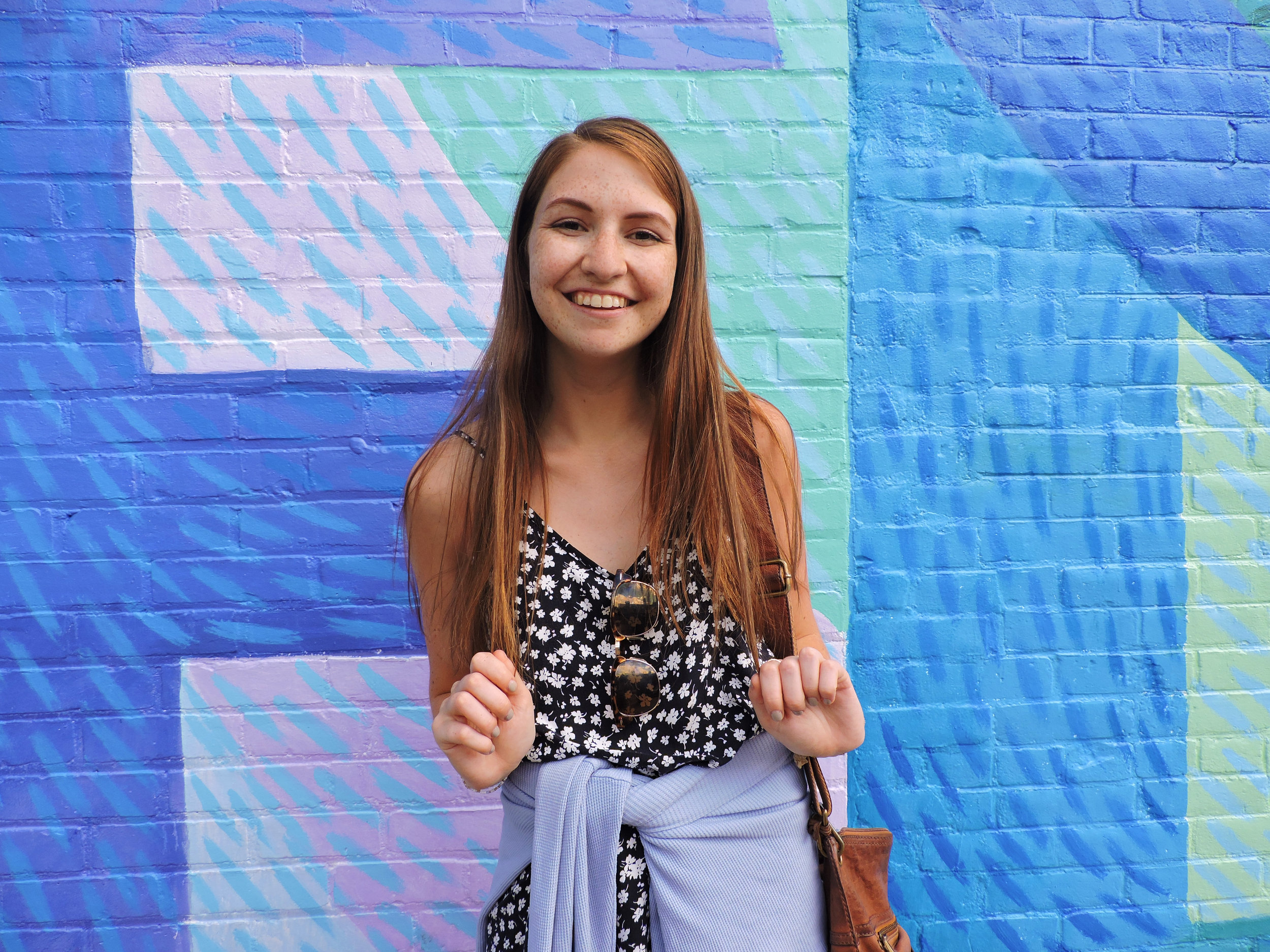 girlwallburlingtonvermontcolorfulsummer