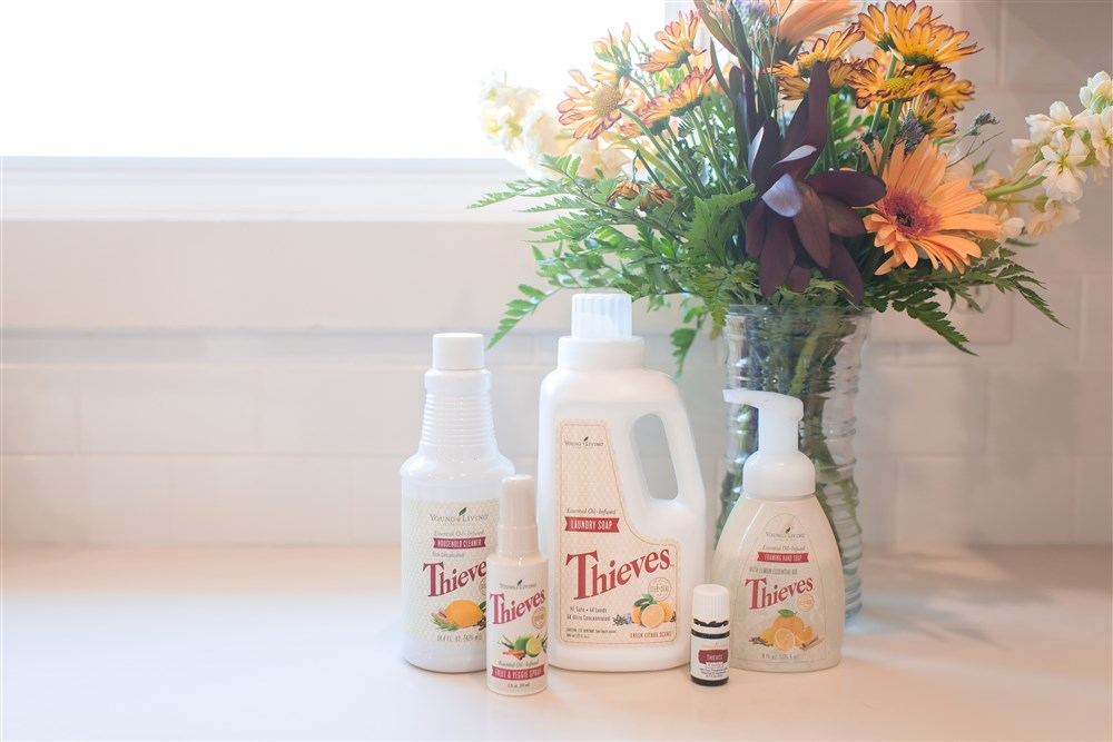 The thieves line of cleaning products is AMAZING to say the least. I have replaced every cleaning product in my house with Thieves. Its safe, so powerful, smells great and did I mention NON TOXIC?