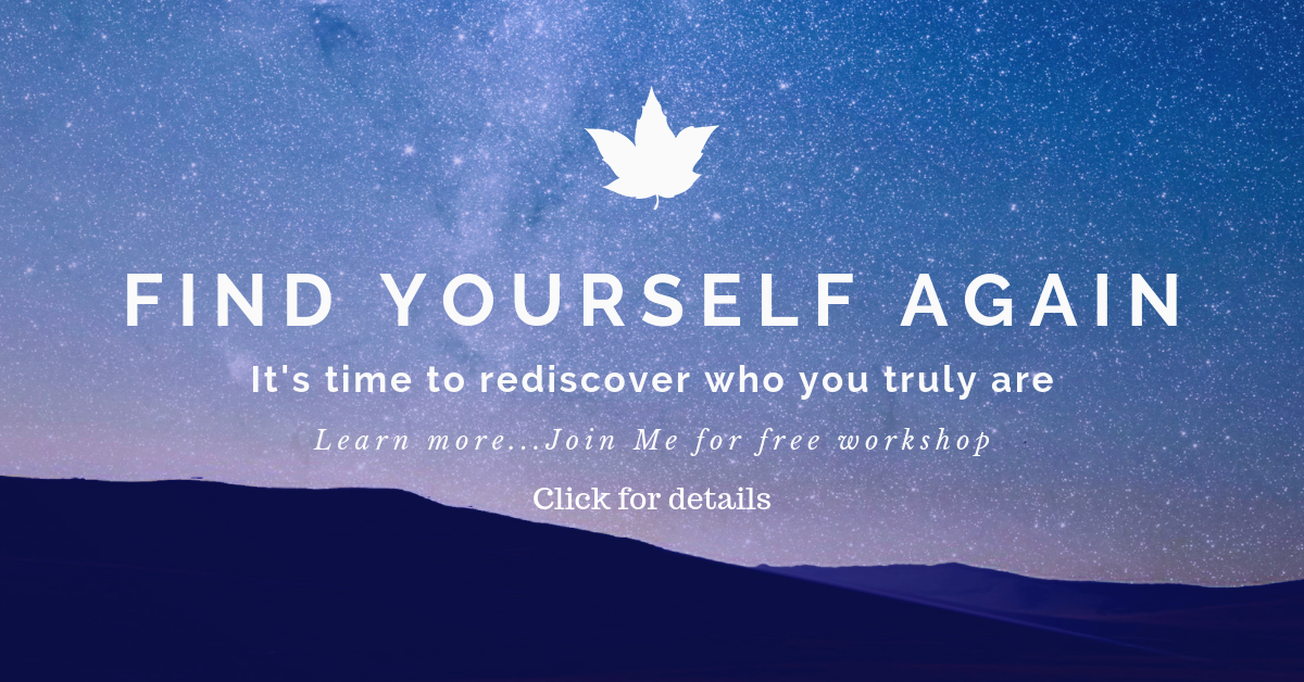 Free Introductory workshop to help you rediscover who you truly are and what magic is waiting for you.