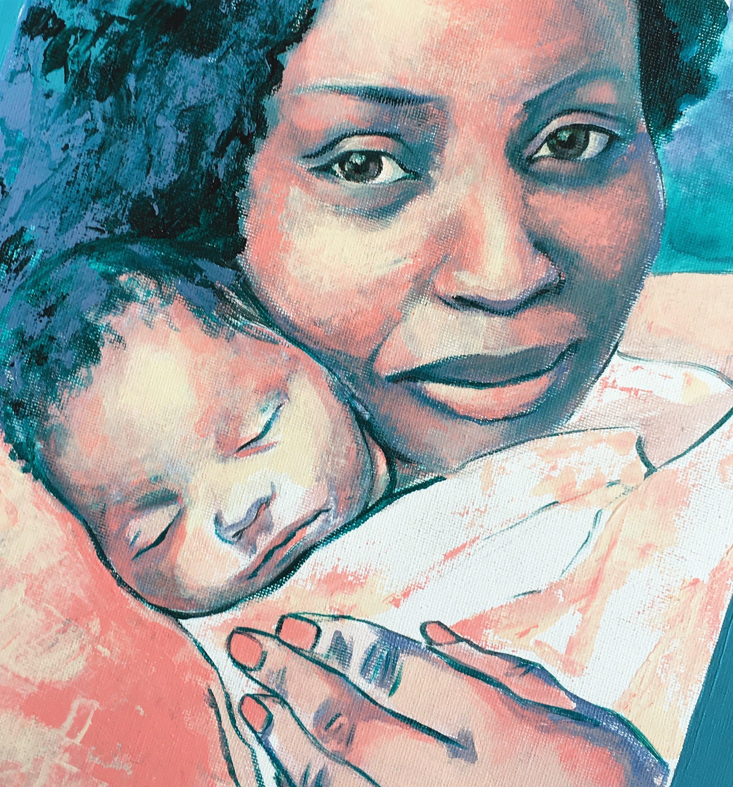 Portrait of Mother & Child (2018)