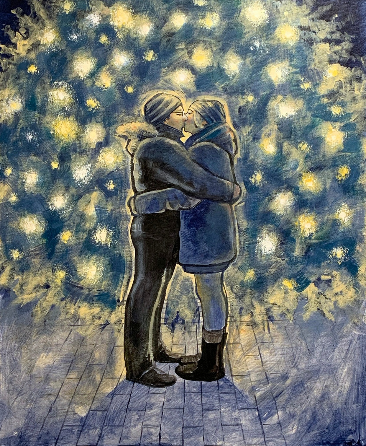Wedding Anniversary Portrait (2018)