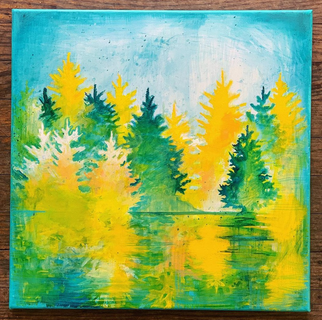 Pine Creek Forestry Office Painting (2019)