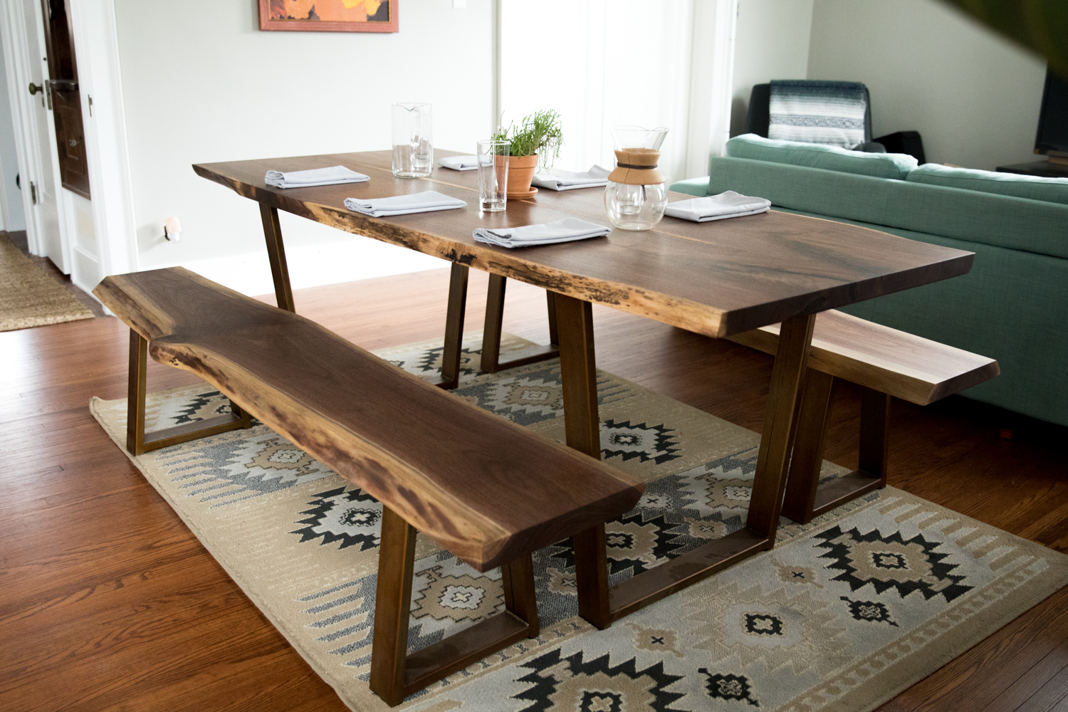 Big Tooth Co_Fort Wayne Indianapolis Woodworking _Walnut Dining Table (26 of 51).jpg