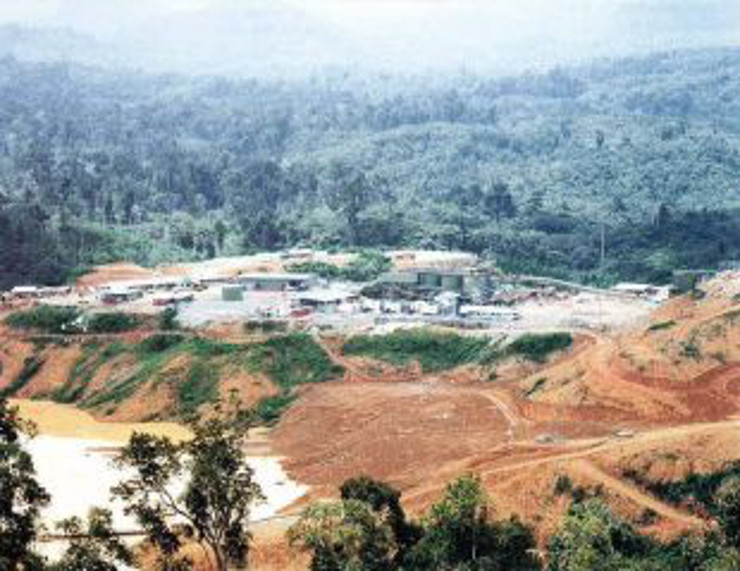 Above:  Gold project Tribis managed from exploration to production in Indonesia