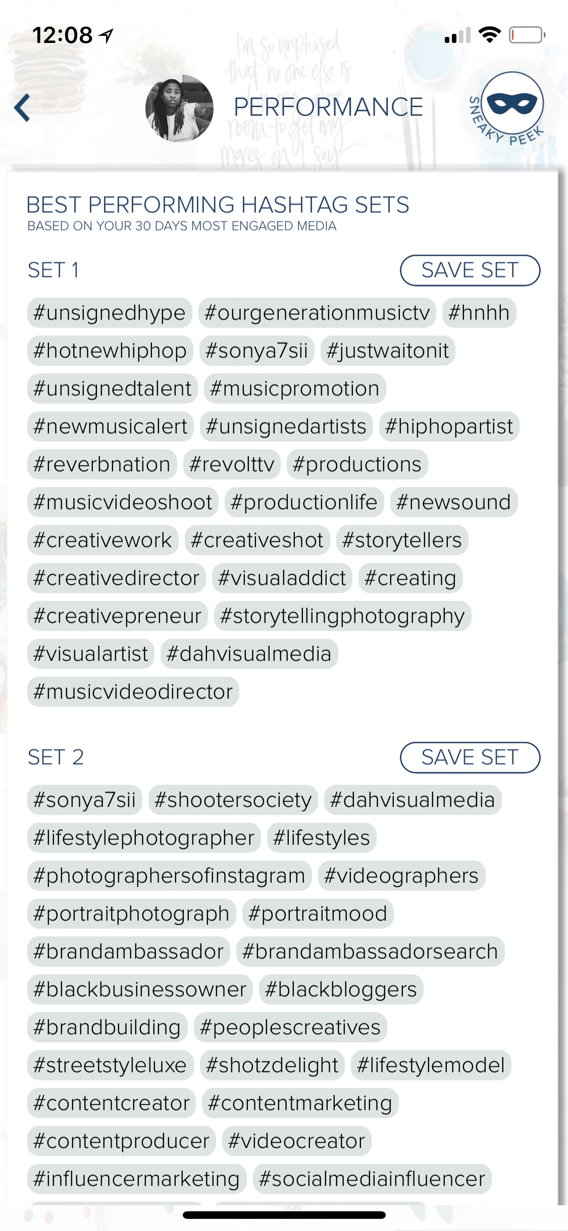 Best Performing Hashtags