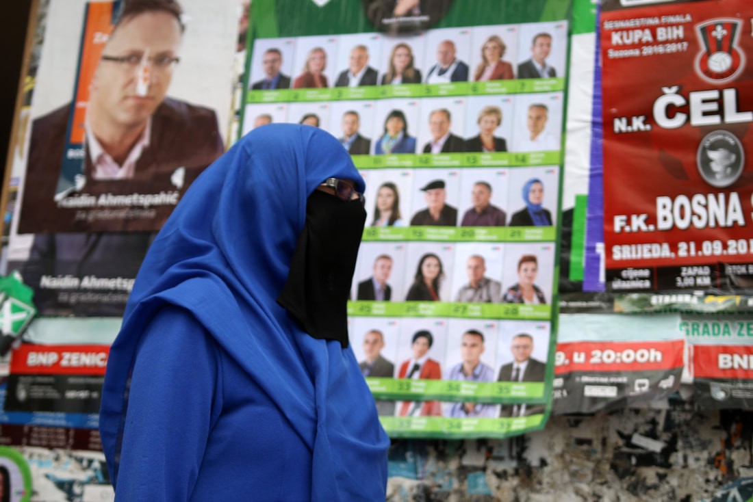 September 21, 2016, Zavidovici - Indira Sinanovic was the first women wearing hijab to run for City council of Zavidovici during the 2016 elections.