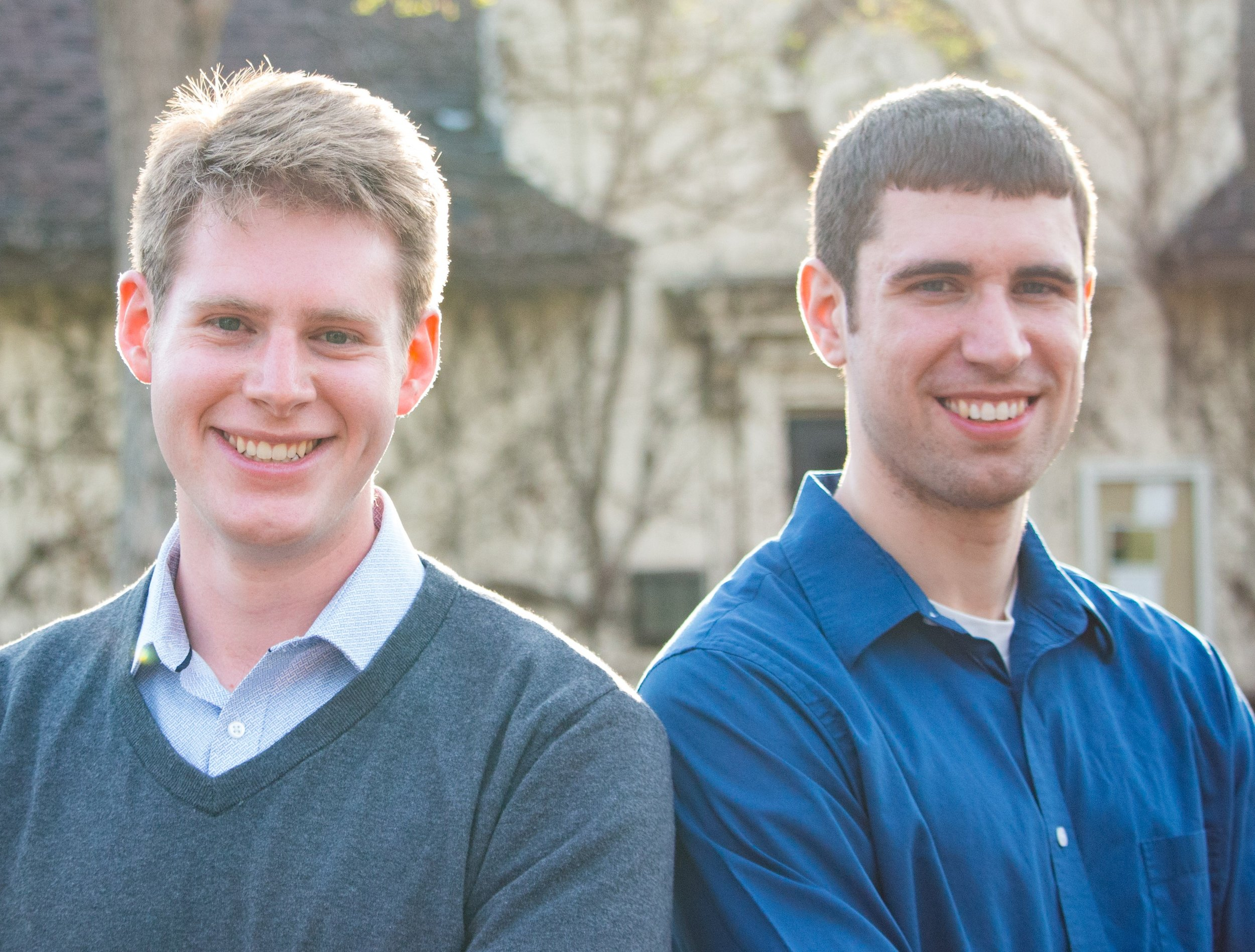 Twin Cities Apologetics Leaders: Matthew Slama (Left) and Jeremy Linn (Right)