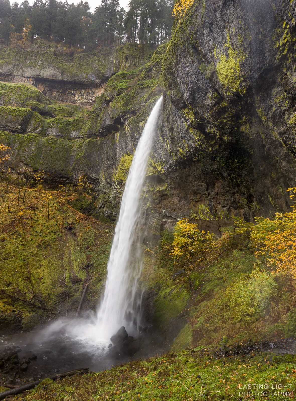XX Falls in the Columbia Gorge