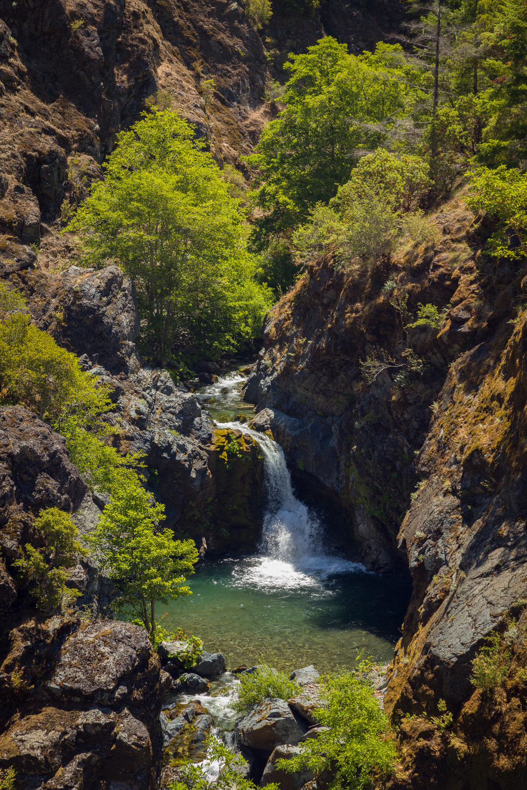 Stair Creek Falls on the Rogue River