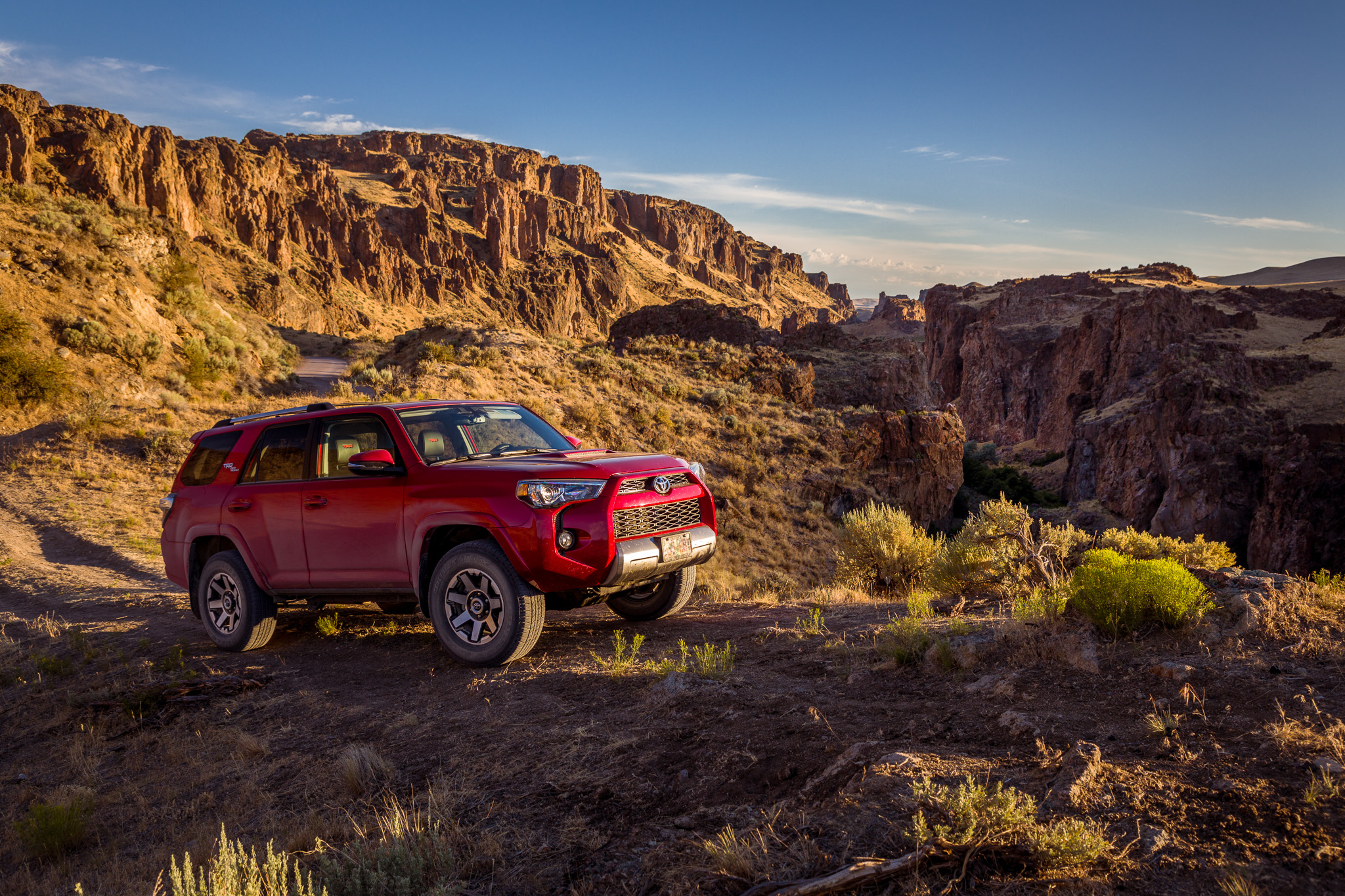 Toyota 4Runner TRD Off-Road Premium in the Owyhee Canyonlands