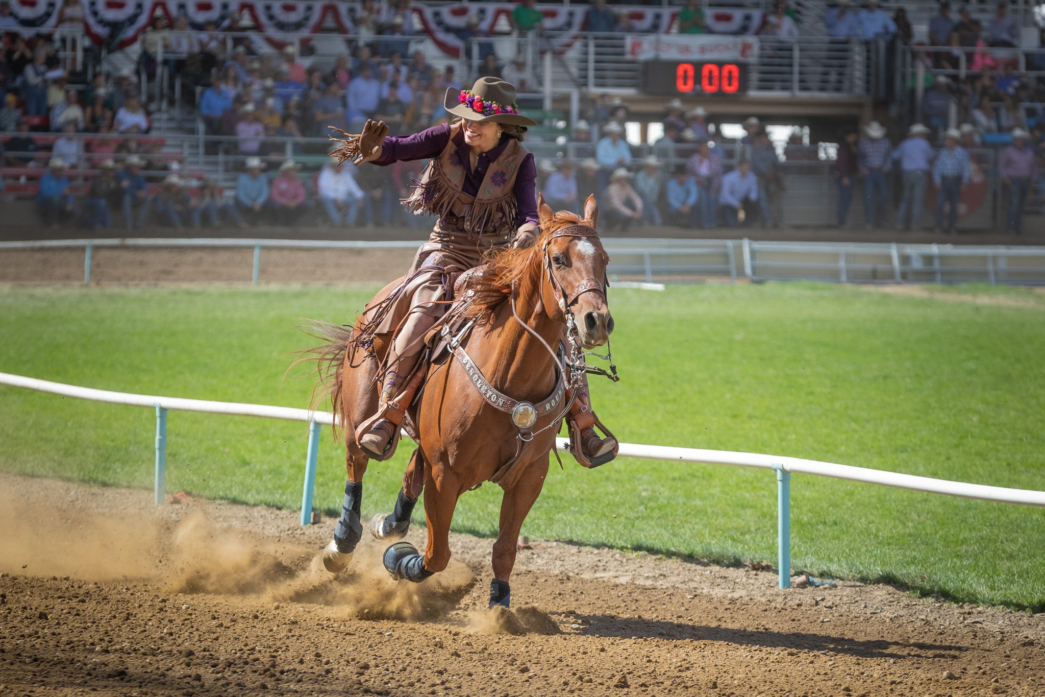 """Janet Herbes - """"Vince took some great shots of my daughter who was a princess in the Royalty Court at the Pendleton Round-Up, and he was very kind about sending me some proofs."""""""
