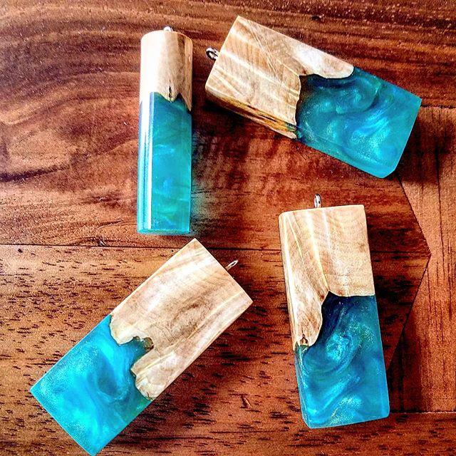 Just added to the website https://www.jamesparkerdesigns.com . . #jamesparkerdesigns #jewelry #woodworking #resinart #resin #instagram #pendant #art #stabilizing #designer #handmade #craftsman #beautiful #burl #necklace #water #smallbusiness #gifts #giftideas #handcrafted #happymothersday #design #bussines #instagram #facebook #picsoftheday