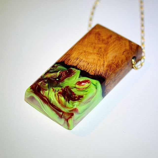 #jamesparkerdesigns #jewelry #woodworking #resinart #resin #fashion #pendant #art #stabilizing #designer #handmade #craftsman #beautiful #burl #necklace #water #smallbusiness #new #news #pdxsatmkt #giftideas #gift #finejewelry #drama