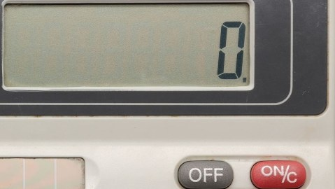 calculator zero long
