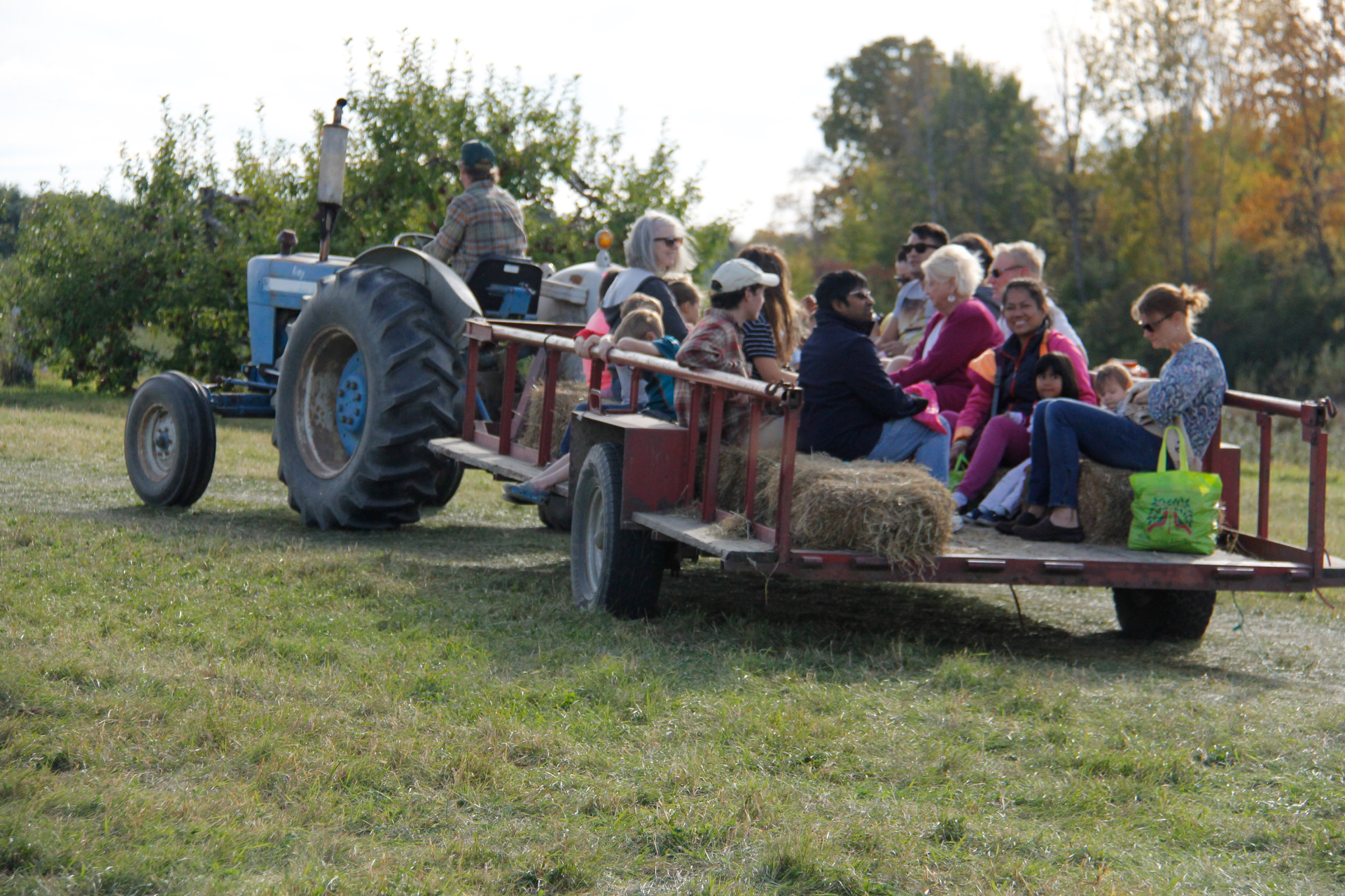 Tractor Rides to Pick your own, every weekend starting September 7th!