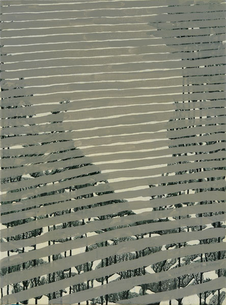 "Blinds, 2009, acrylic on canvas, 24"" x 17"""