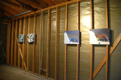 installation view, 2007, Dools, Vega Estates, Chicago, IL