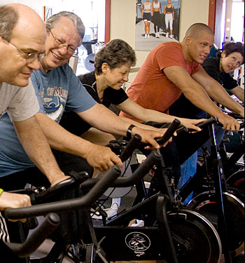 Better together! - Pedaling for Parkinson's IS a spin class!