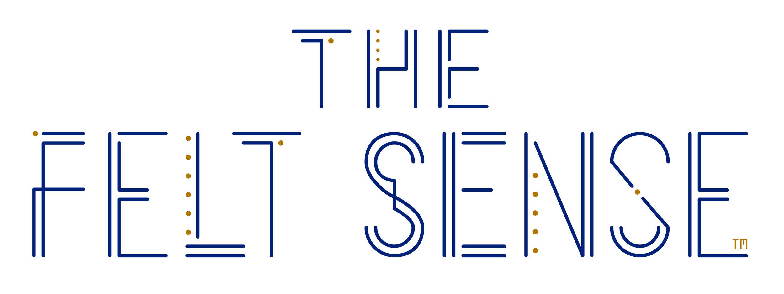 Logo design for Rachel at  The Felt Sense
