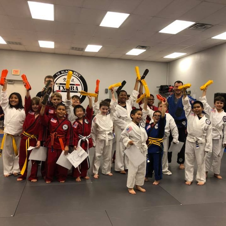 Kids Karate - TX Black Belt Academy's kids karate classes are the best way to help your child reach their full potential!