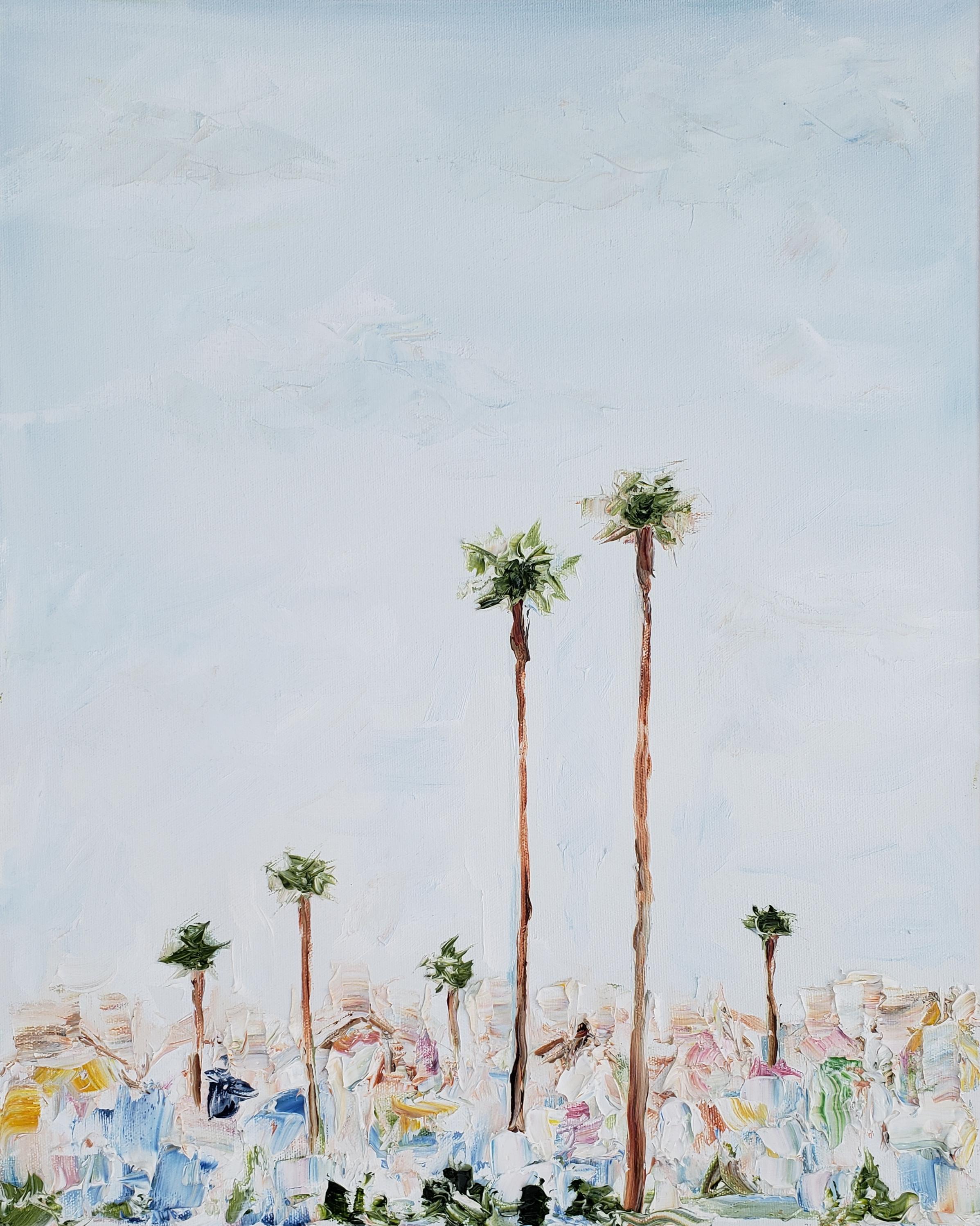 California Skyline | 16x20 | Oil on canvas | $650.00 | SOLD