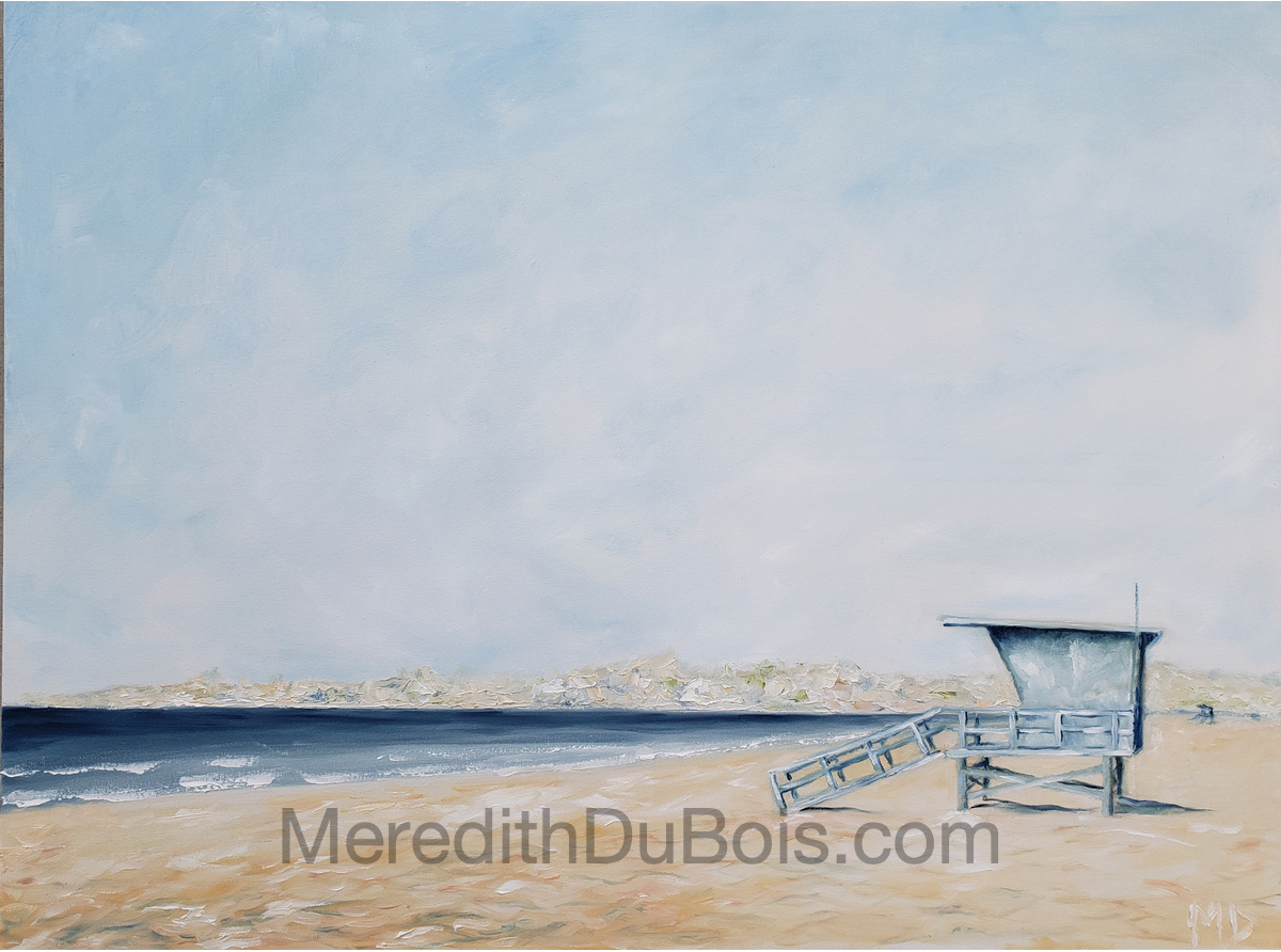 Cool Blues | 40x30 | Oil on canvas | $1,500 | Sold