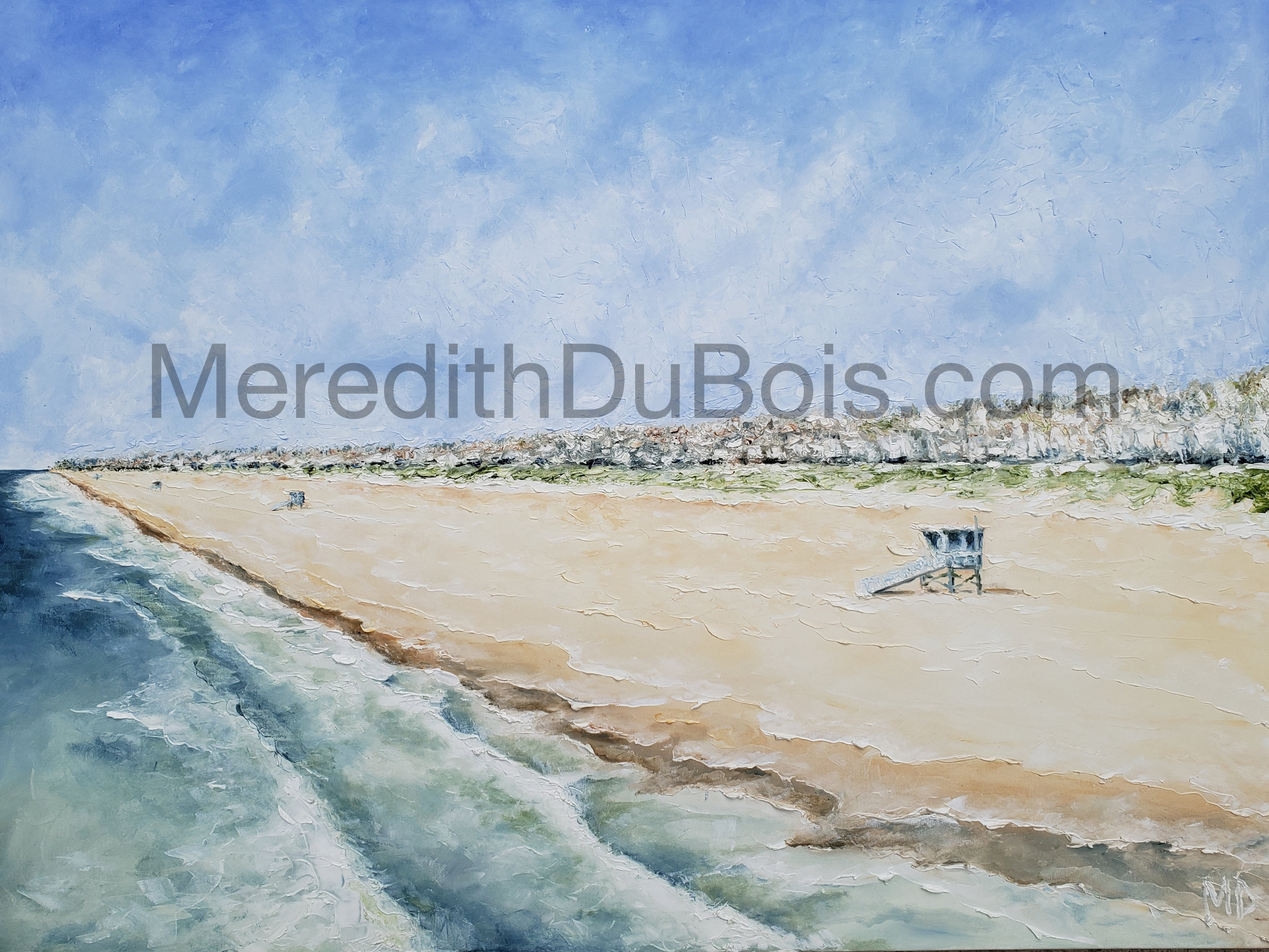 Empty Beach | 48x36 | Oil on canvas | $1,800 | Sold