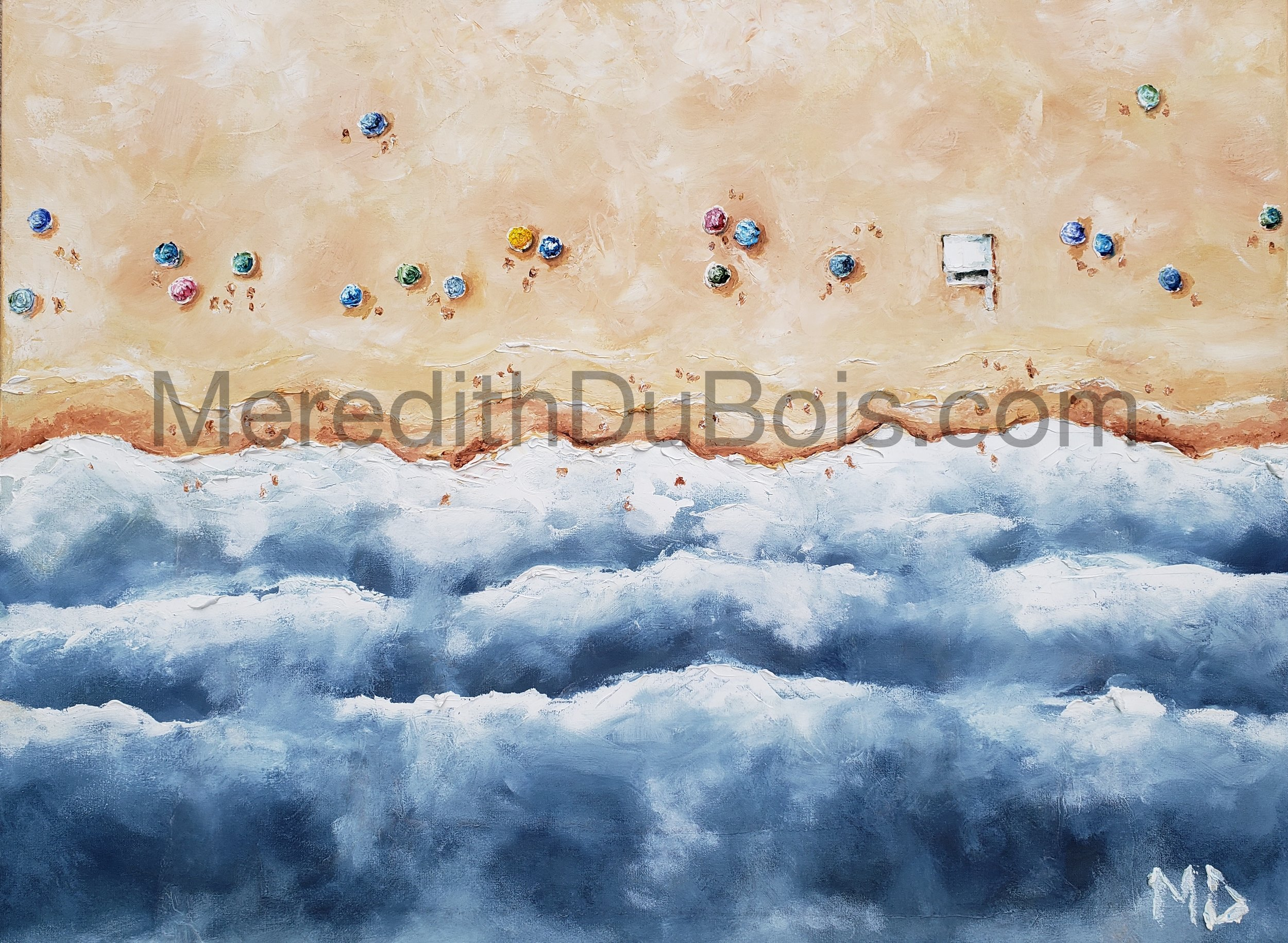 Over The Top 5 | 40x30 | Oil on canvas | $1,300 |  Inquire Here