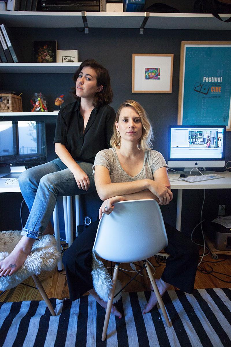Kate Trumbull-aVall and Joanna Sokolowski -