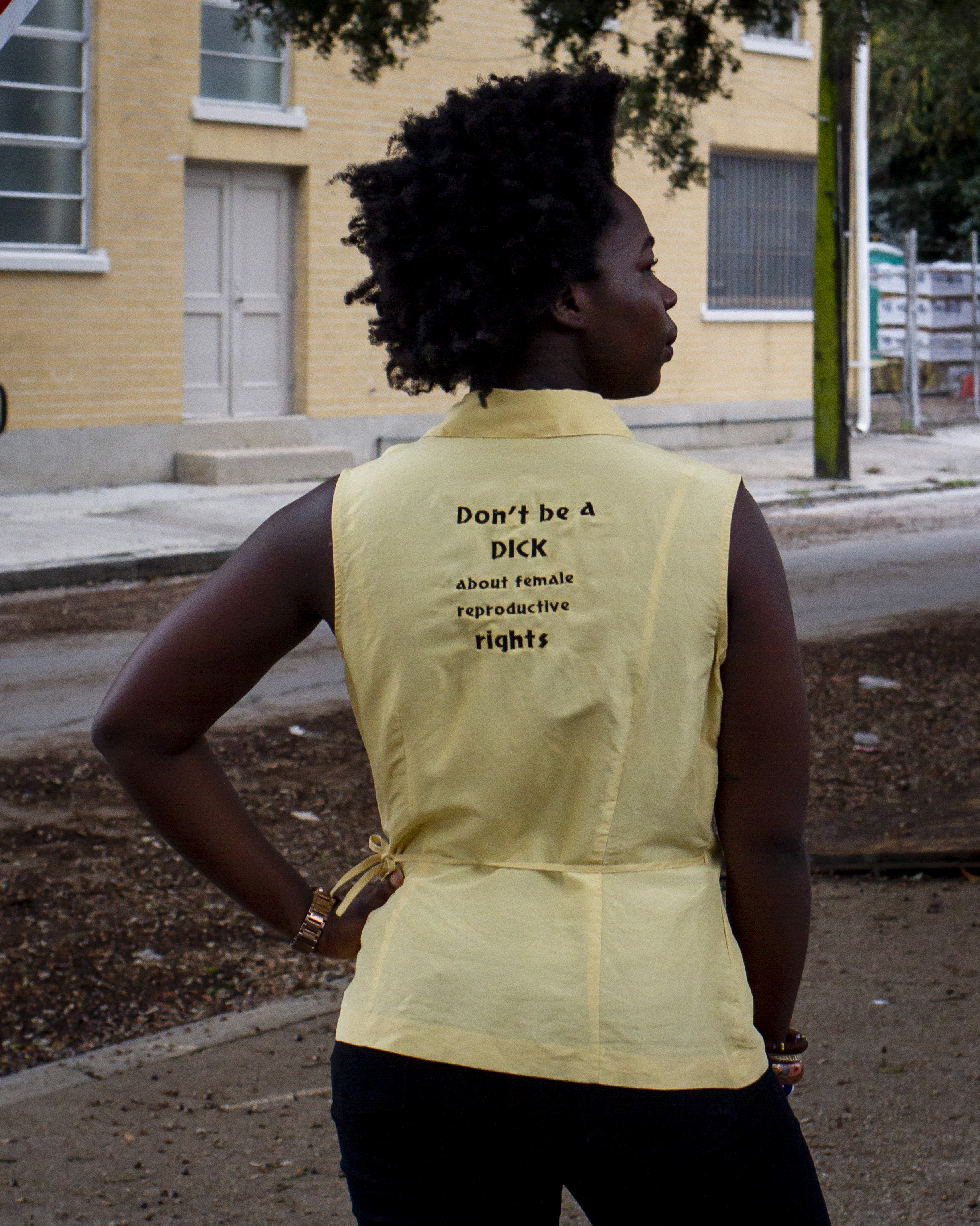Don't Be A Dick About Female Reproductive Rights - Blouse