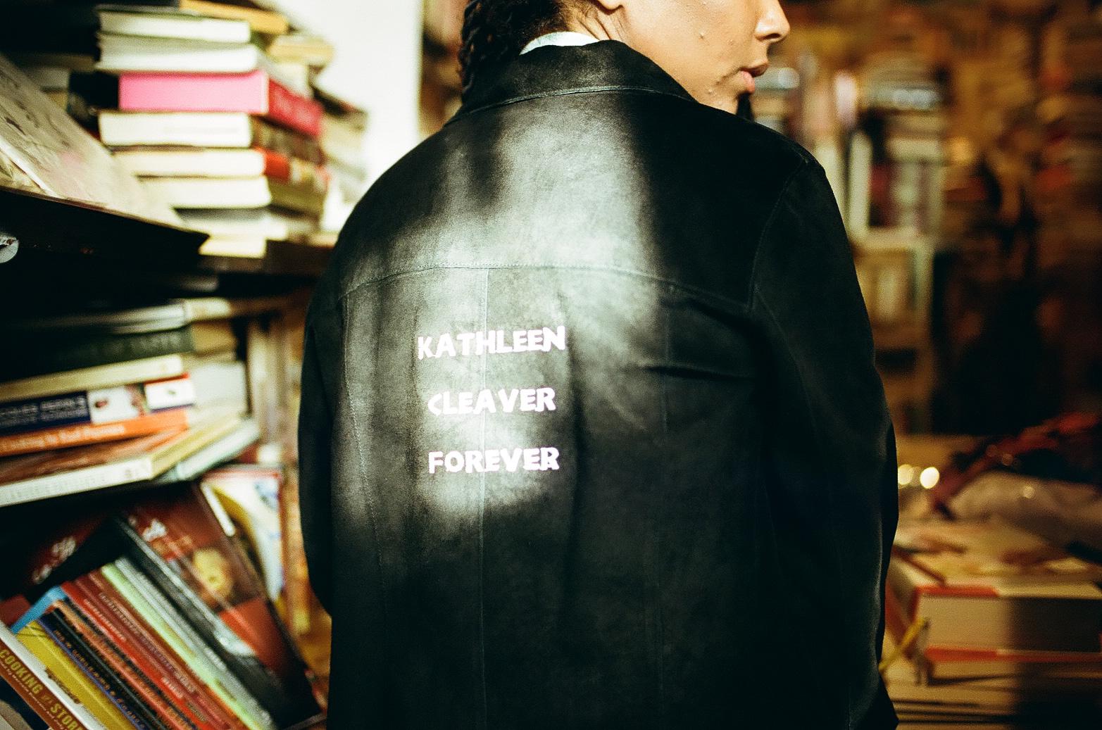 Kathleen Cleaver Forever - Suede Jacket