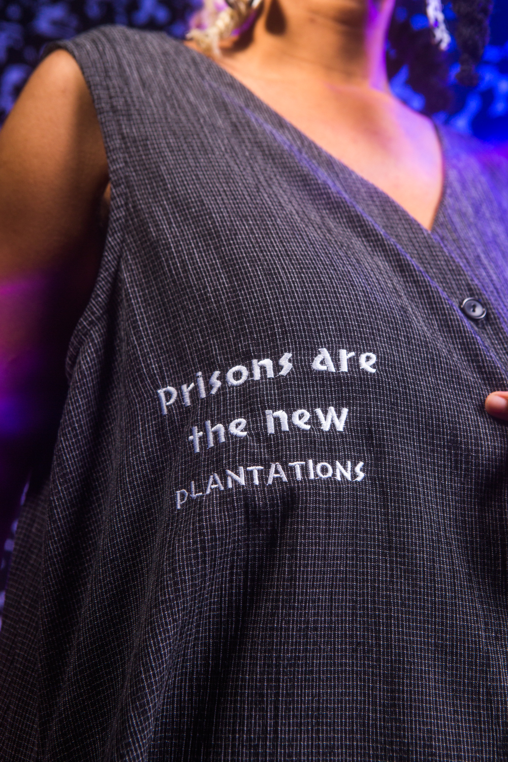 Prisons Are the New Plantations - Vest