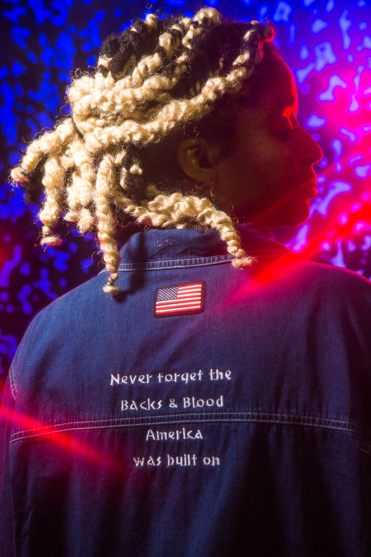 Never Forget - Denim Jacket