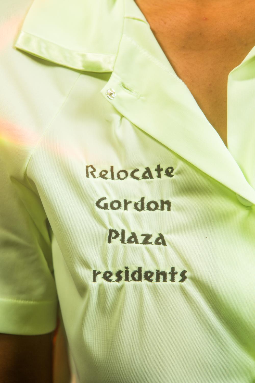 Release Gordon Plaza Residents - Blouse