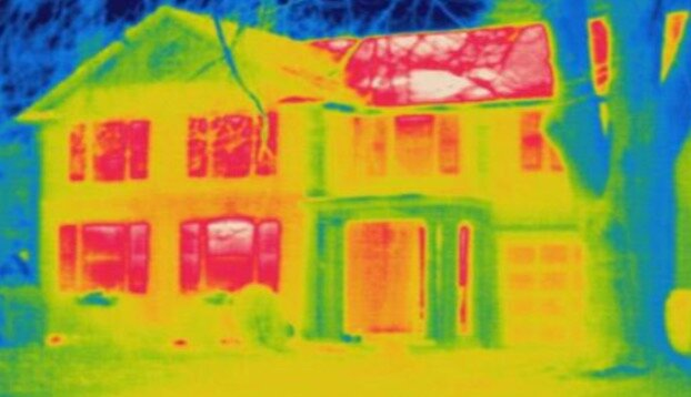 Around 50% of heat transfer occurs through the roof.