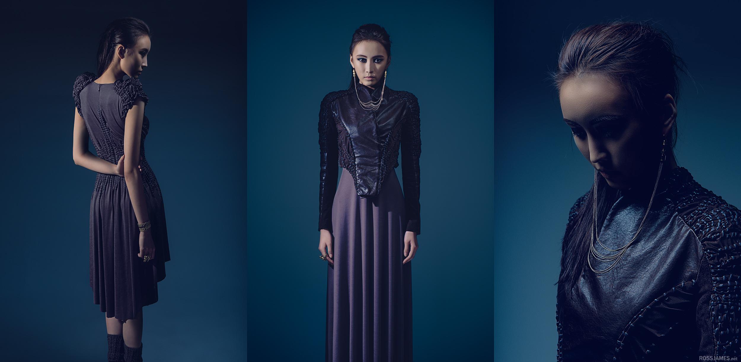 Clothing designer: Sarah Kim; Model: 강민희