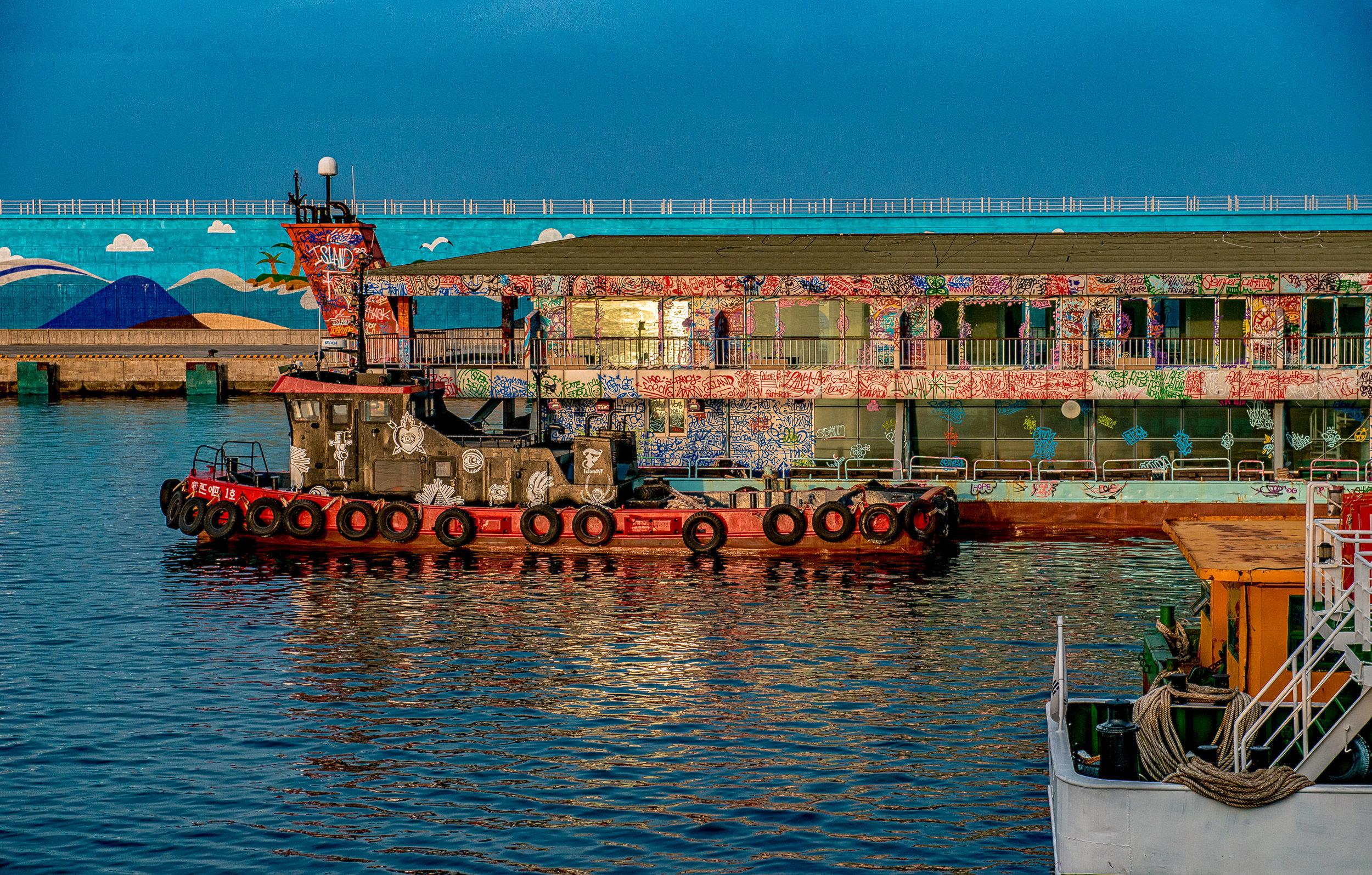 The Graffiti Ferry